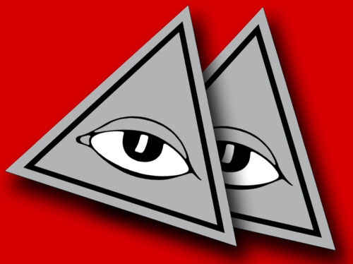 "Bronson All Seeing EYE *SALE***$8.00***NEW Sets NOW 4.5/"" X 4/"" **FREE SHIP"