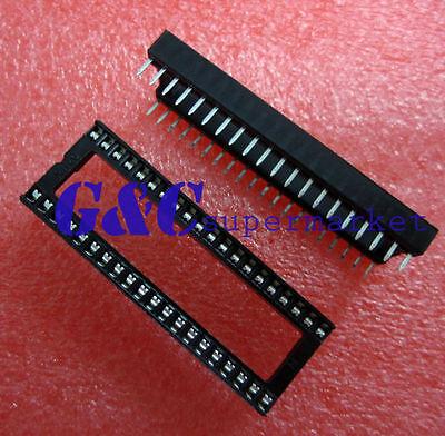 20PCS 40-PIN 40PIN DIL DIP IC Socket PCB Mount Connector NEW GOOD QUALITY