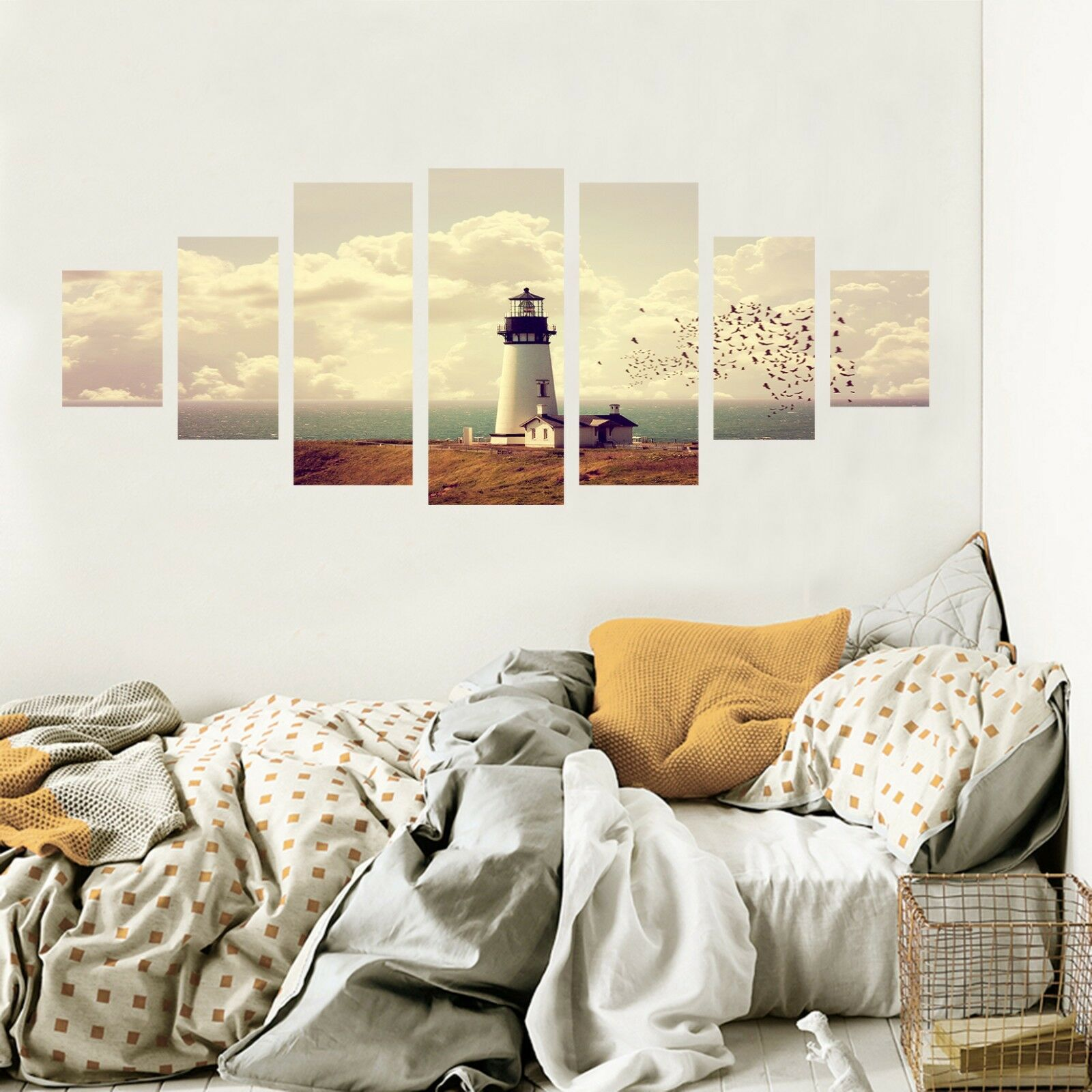 3D Lighthouse 757 Unframed Print Wall Paper Decal Wall Deco Indoor AJ Wall Jenny