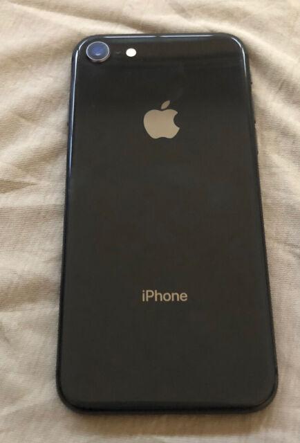 Apple iPhone 8  - 256GB - Space Gray (Unlocked) A1864 (CDMA + GSM)