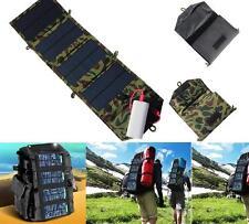 Portable Solar Charger For Mobile Phone Folding Mono Panel Foldable USB Modules