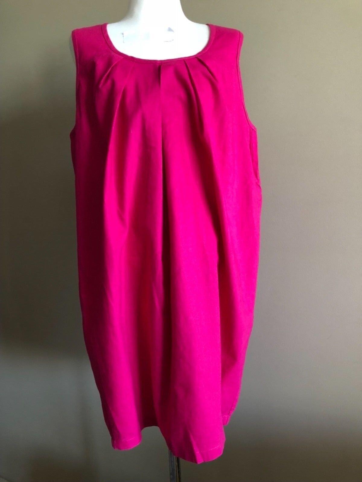 Surafina fuchsia linen linen linen dress, size m, Aus 10-12, new 3ce08f