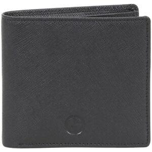 economico per lo sconto 6f62e 0c5ef Details about Giorgio Armani Men's Portafoglio Genuine Leather Bi-Fold  Wallet