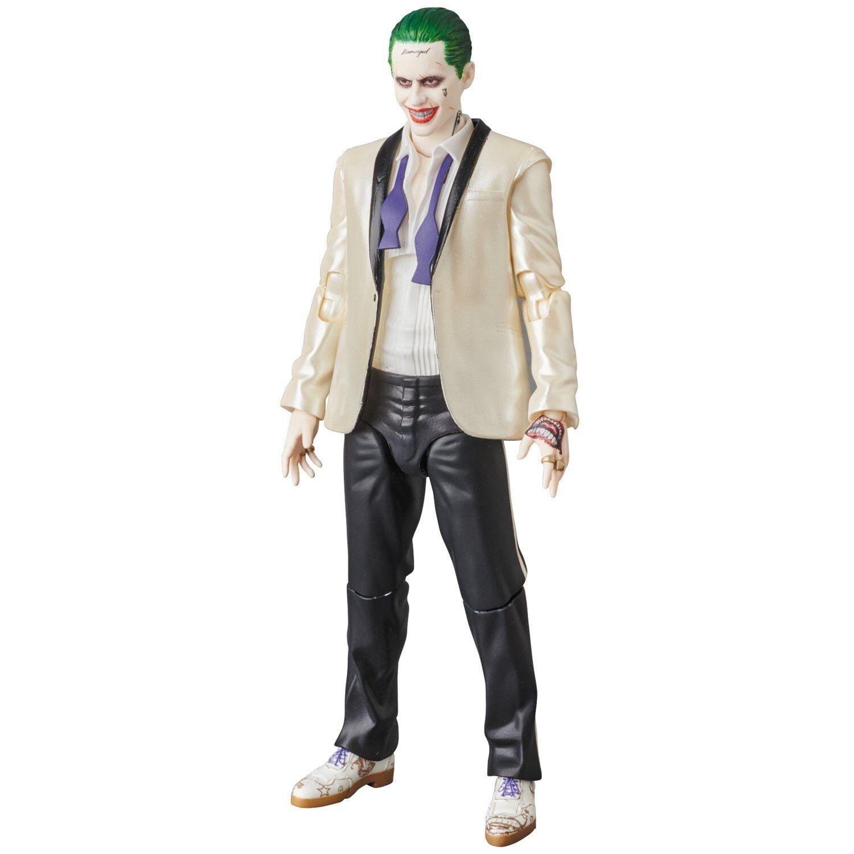 DC Suicide Squad MAFEX The Joker (Weiß Suit) Action Figure