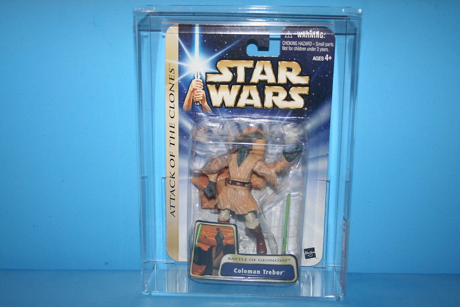 marca famosa Estrella Wars 03 ataque de los clones Figura Figura Figura de Acción autoridad calificado menta en tarjeta Coleman Trebor Raro    8.5 figura B  ventas en línea de venta