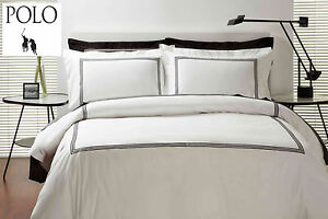 POLO-Queen-Bed-Quilt-Cover-Set-Emerson-White-with-black-triple-stitching