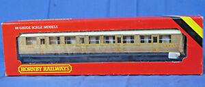 HORNBY-RAILWAYS-OO-R435-LNER-COMPOSITE-COACH-TEAK-LIVERY-22357-boxed