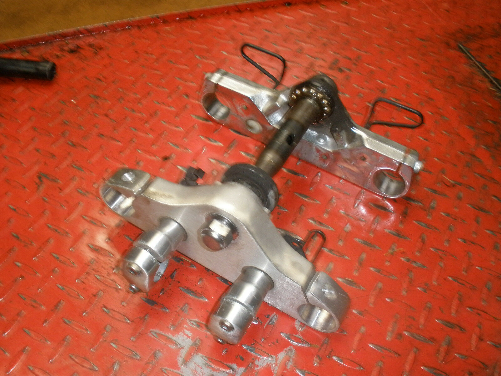 YAMAHA  2003 V STAR 1100 FRONT STEERING HEAD TRIPLE TREE  for sale