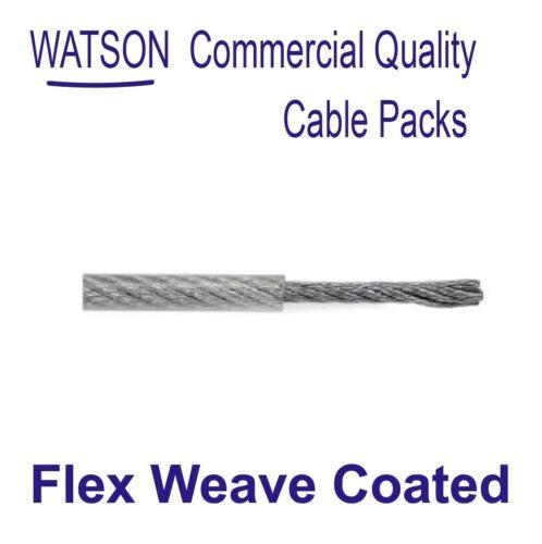 Cable de antena cubierto de tejido Flex Longitud 20m