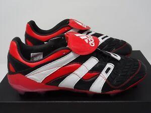 hot sales d5ba7 2751b Image is loading Adidas-Predator-Accelerator-FG-Boots-OG-Black-Red-