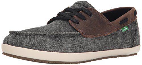 Sanuk Mens CASA Barco Vintage Boat shoes- Pick SZ color.