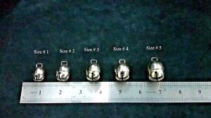 Falconry-Dog-Cat-Bells-Silver-Chromed-Acorn-Pair-Bells