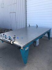 Awt Seri Glide Screen Printing Manufacturing Vacuum Table Dual Compressor Motor