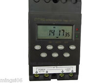 Misol 110v Timer Switch Timer Controller Lcd Displayprogrammable 25a