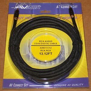 AV-Link-Coax-Digital-Composite-Video-ARR711-13-12ft-NEW