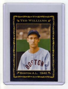 Ted-Williams-039-40-Boston-Red-Sox-rookie-season-limited-edition-only-200-exist