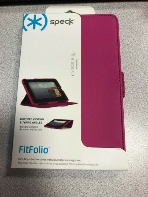 on sale 84230 7936f OEM Speck FitFolio Spk-a2417 Black Case for Verizon Ellipsis 7 Tablet Cover