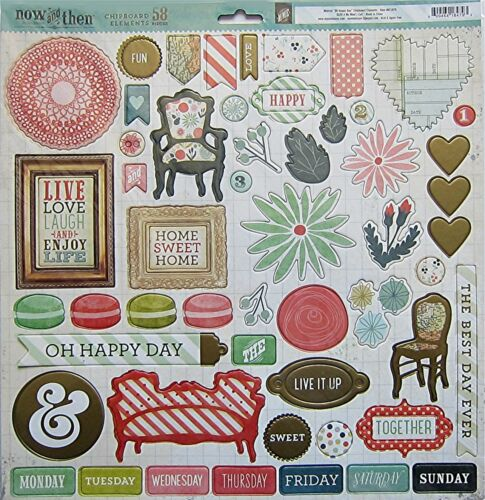 "Now and Then MILDRED /""OH HAPPY DAY/"" 12 x 12 Chipboard Save 40/% My Mind/'s Eye"