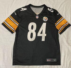 NIKE On Field Dri-Fit Pittsburgh Steelers Antonio Brown #84 NFL Jersey Men's XL