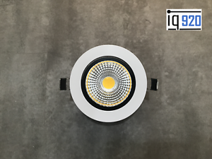 24 voltios Design LED spot instalación emisor regulable 7 vatios, blanco para, p. ej., loxone, BEI  </span>