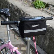 Fashion Large Storage Bike Front Handlebar Pannier Bicycle Cycling Bag Pouch