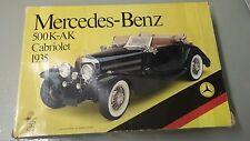 Pocher K74 Mercedes Benz 500 K-AK Cabriolet 1935 1/8 Scale Vintage Car Model Kit