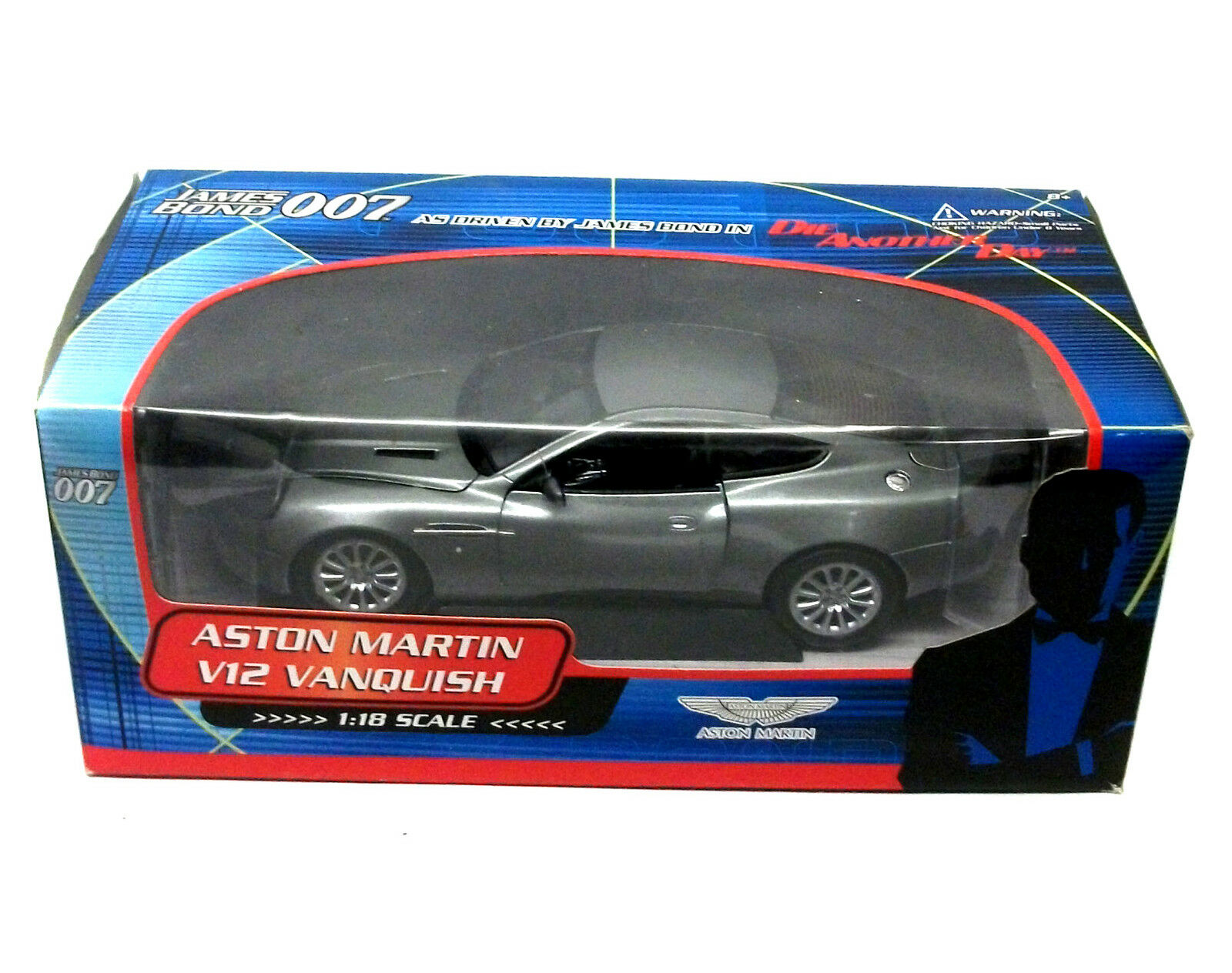 007 JAMES BOND 1 18 Die Cast Movie Car ASTON MARTIN V12 VANQUISH