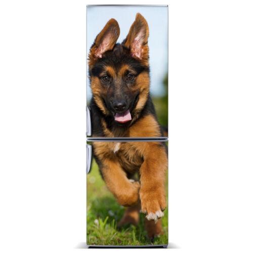 Removable Magnetic Fridge Sticker Self Adhesive Animals German Shepherd