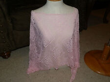 Womens Swimsuit One size fits all Womens swimsuit cover up Pink Lace NWT $56