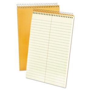 AMPAD/DIV. OF AMERCN PD&PPR Spiral Steno Book, Gregg, 6 x 9, 20 lb, Green Tint,
