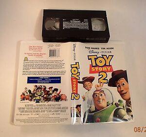 Toy Story 2 (VHS 2000) Disney Pixar Tom Hanks Tim Allen | EBay