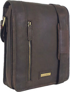 UNICORN-Real-Leather-iPad-Kindle-Tablets-amp-Accessories-Messenger-Bag-Brown-6K