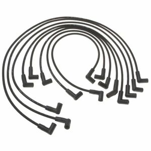 ac delco spark plug wires set of 8 new chevy chevrolet camaro 9618w Delco Vi image is loading ac delco spark plug wires set of 8