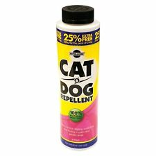 Pet Cat & Dog repellente in polvere di origine animale non tossici NATURALE PER GIARDINO VERANDA UK POST