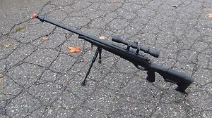 Well-MB11D-Airsoft-Sniper-Rifle-Military-Spec-Fluted-Barrel-Black