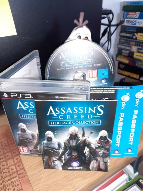 Assassin's Creed: Heritage Collection (Sony PlayStation 3, 2013) - PAL Version