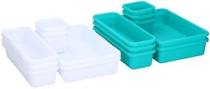 8-Piece-Drawer-Organiser-Desk-Drawer-Tidy-Jewellery-Clothing-Kitchen-Drawer-Tidy