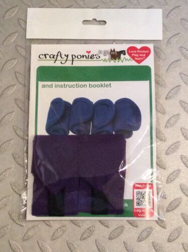 Crafty Pony Leg Wraps X 4 Only Two Available Brand New Last Of Stock!!