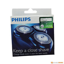 3 PHILIPS HQ56  HQ4 HQ55 RAZOR SHAVER BLADES HEAD FOIL PHILISHAVE REPLACEMENT