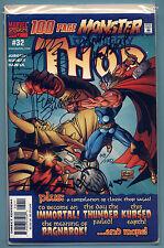 Thor 32 Sketched & Signed Jurgens signed Simonson & Kubert DF COA