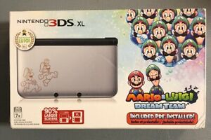 New Nintendo 3ds Xl Mario And Luigi Dream Team Ebay