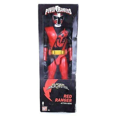 Red Ranger Saban/'s Power Rangers Super Ninja Steel Action Figure Toys Bandai