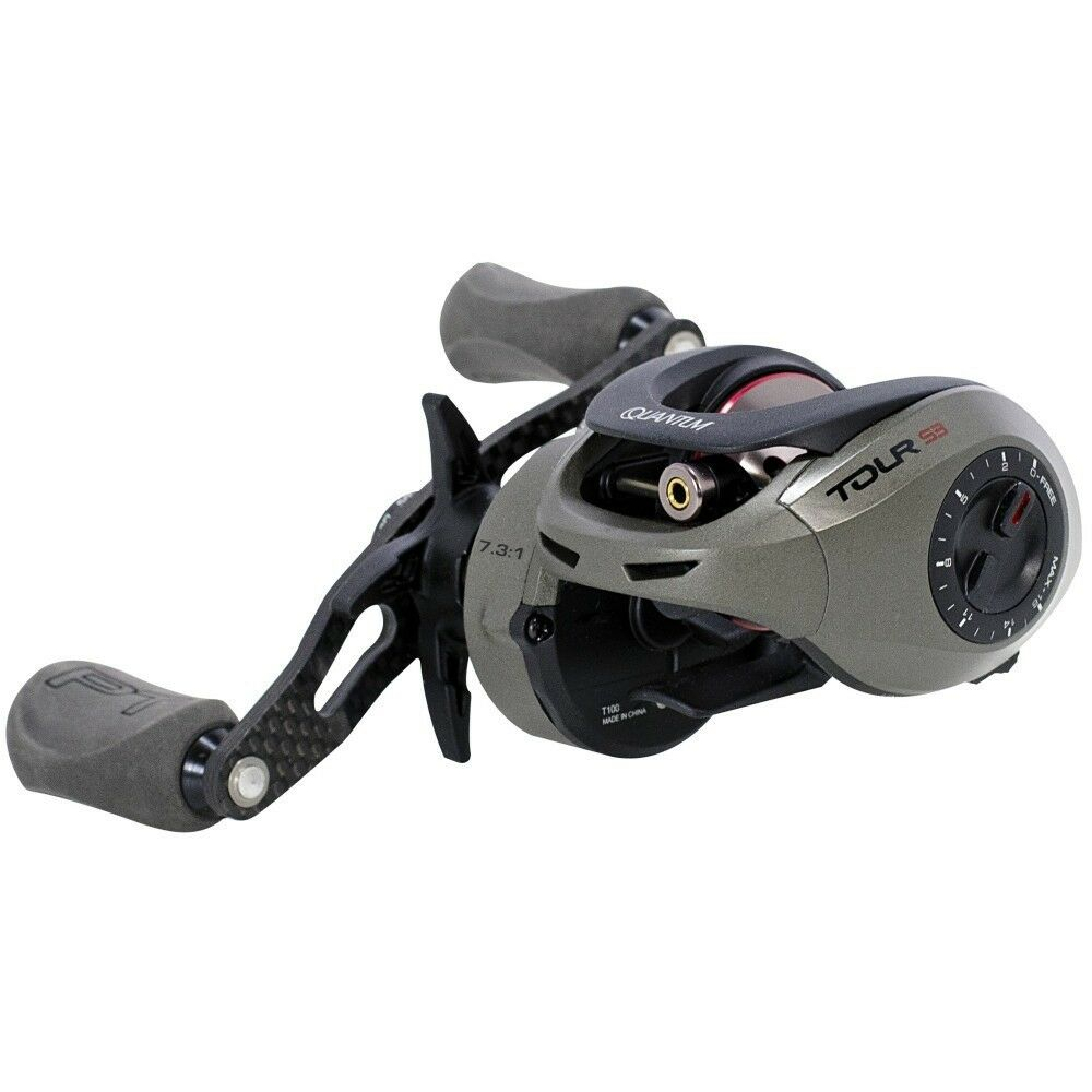 Quantum T100HPT Tour S3 PT Reel - Right Hand, Reel 7.3:1 High Speed Reel Hand, 492aeb