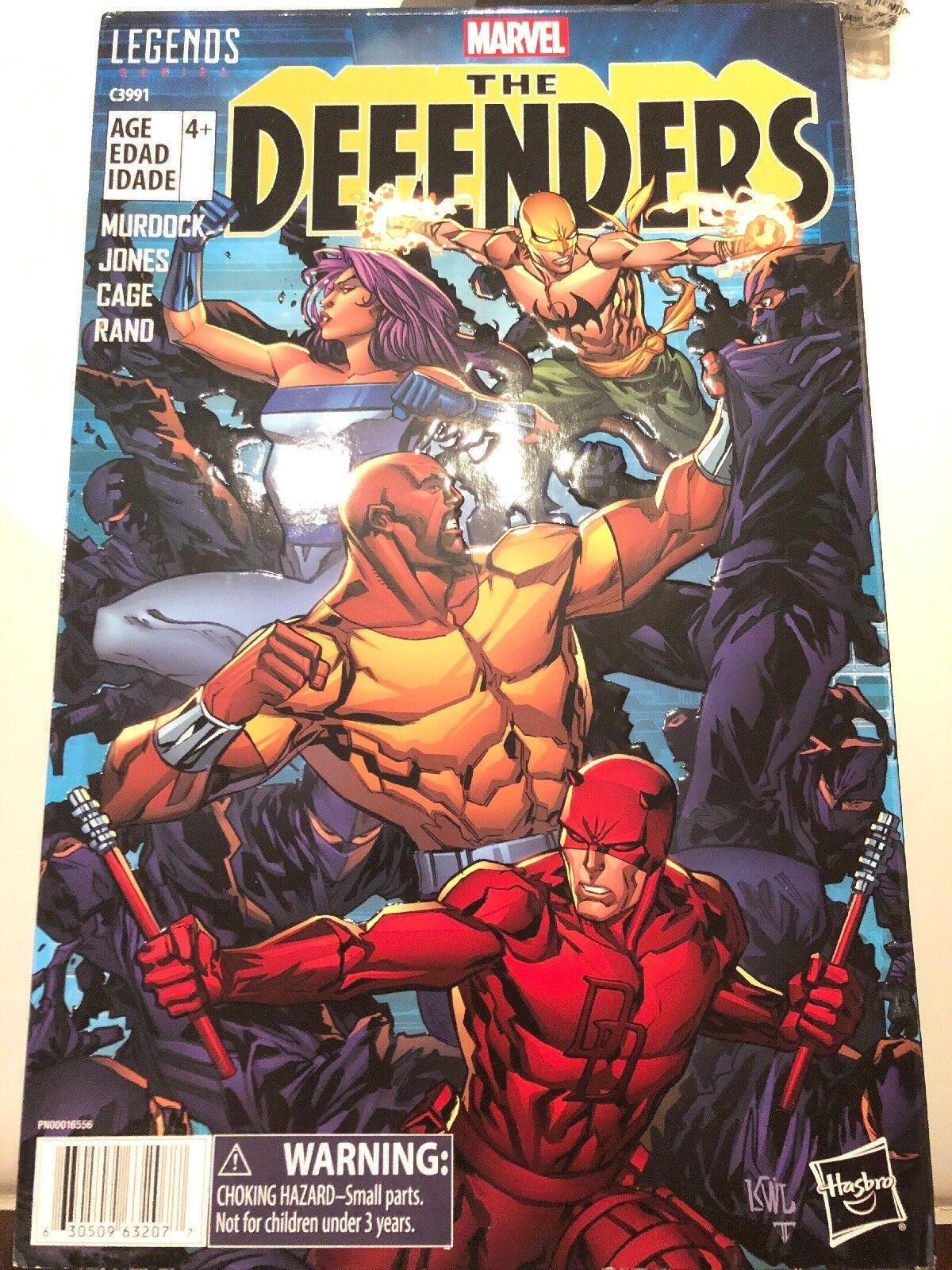2017 Marvel Legends Amazon Exclusive The Defenders 6  4 figure Box Set New MIP