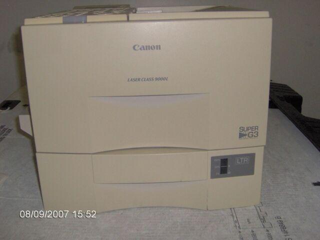 Canon Laser Class 9000l Super G3 Printer Fax Machine And Copier Combo