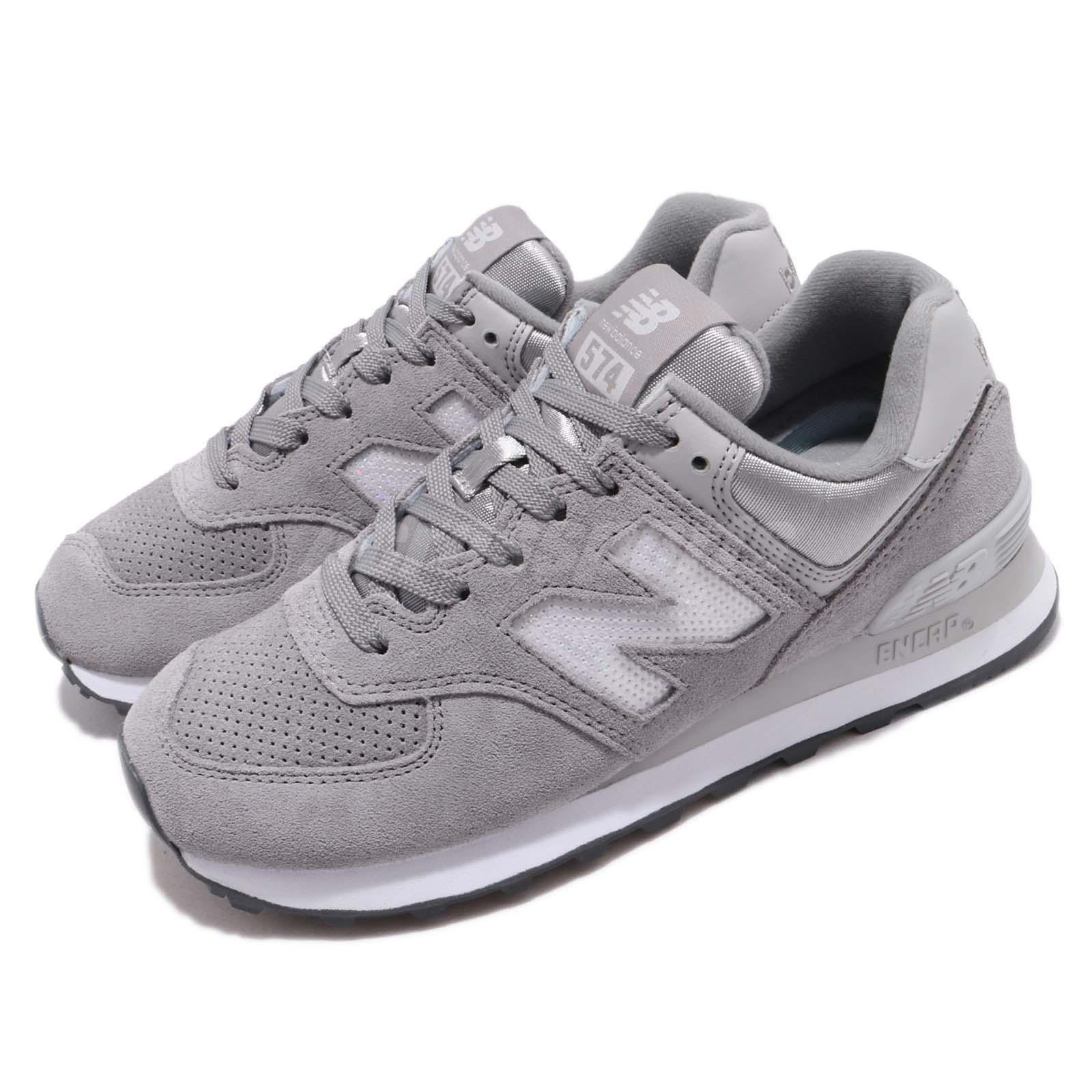 nouveau   WL574FHC B gris blanc femmes FonctionneHommest Décontracté chaussures paniers WL574FHCB