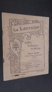 Rivista La Lorraine Il Medio I Risorse I Abitanti E. Gore Be