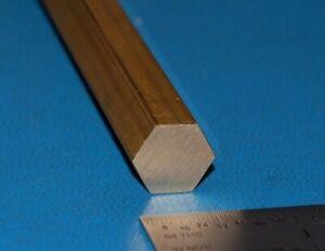 Brass-360-Hex-Bar-500-034-12-7mm-x-6-034