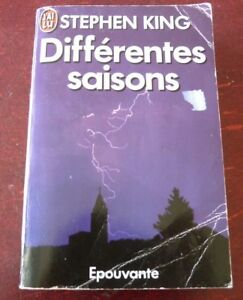 Soft-Cover-French-Book-Stephen-King-Differentes-Saisons-Editions-J-039-ai-Lu-1989