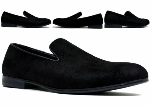 Mens Slip On Shoes Sparkle Shoe Round Toe Casual Mens Loafer UK SIZE 7.5-12
